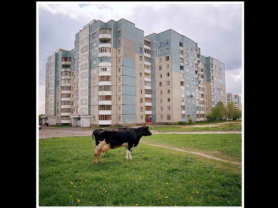 In Belarus, a city is a bigger village.