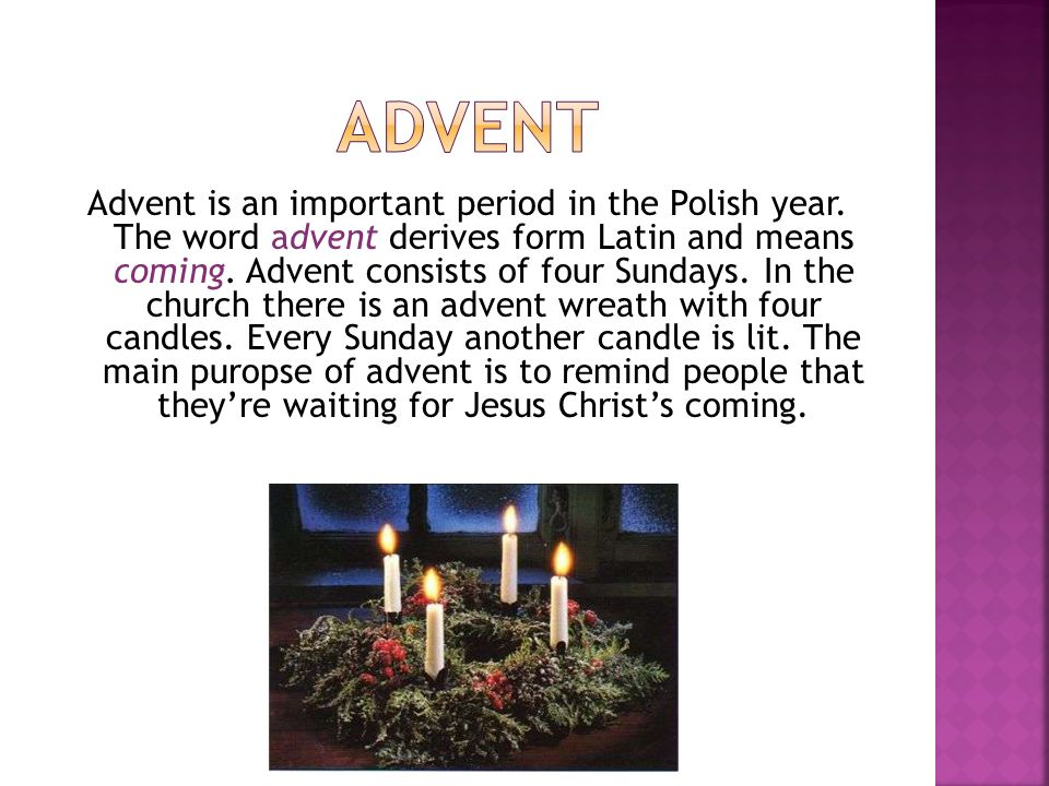 Christmas Mass starts at midnight.Its the first mass during Christmas.