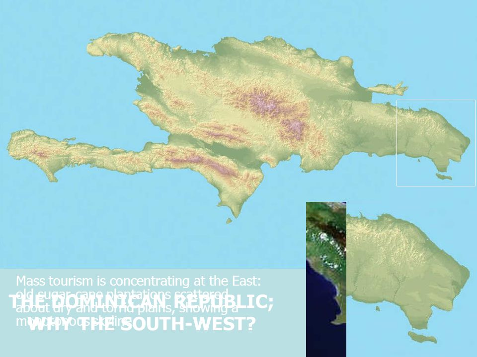 Mass tourism does not find here its spot; the Southwest presents a more sophisticated way of enjoying the Caribbean.
