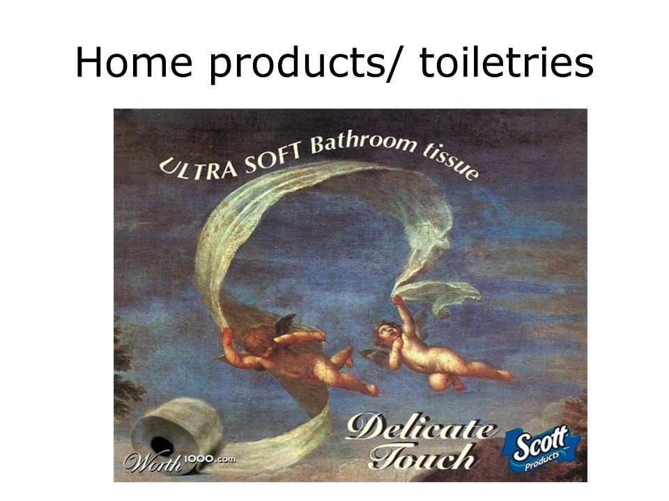 Home products/ toiletries