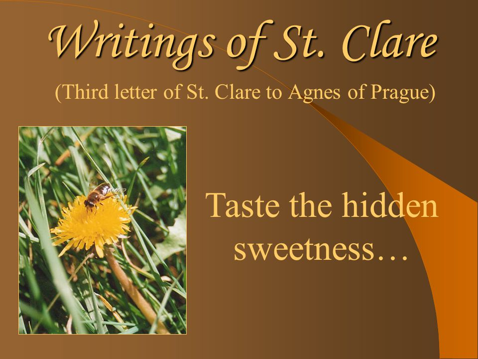 Writings of St.