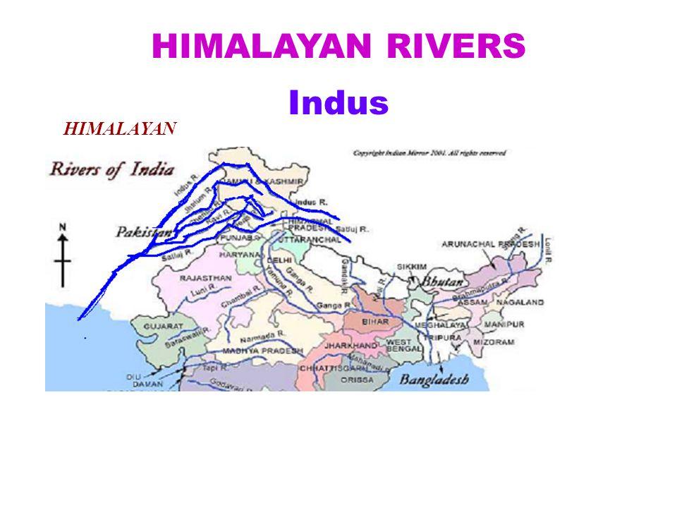 HIMALAYAN RIVERS Indus HIMALAYAN