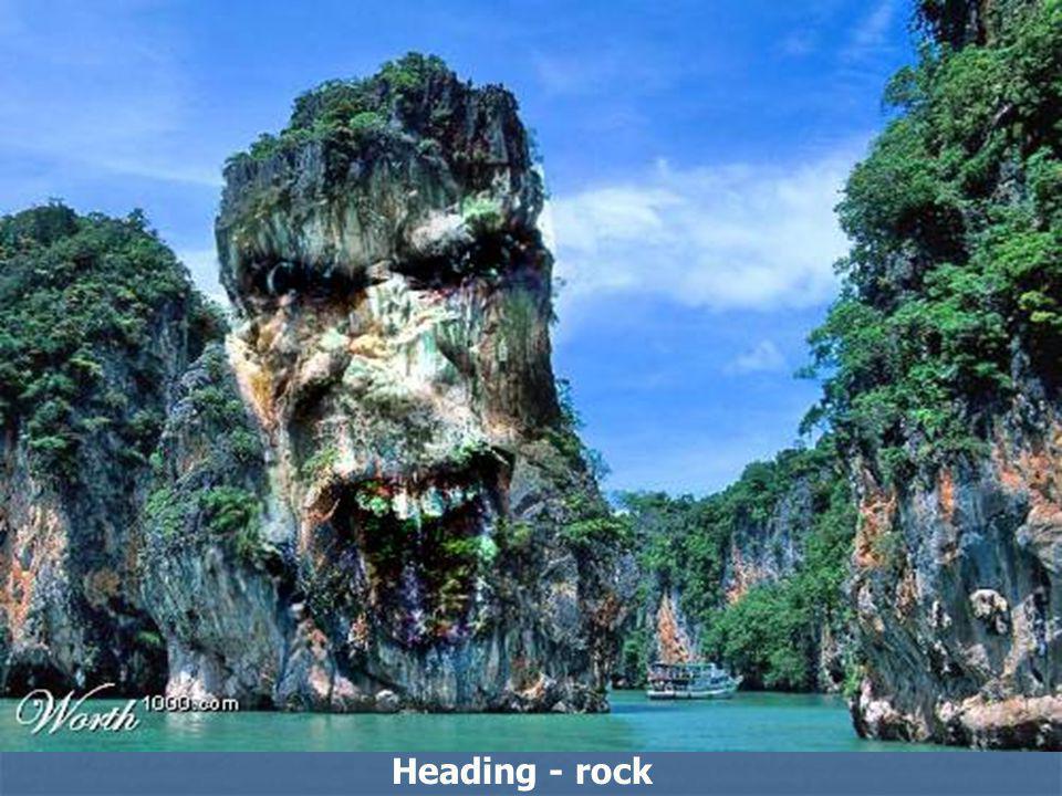 Heading - rock