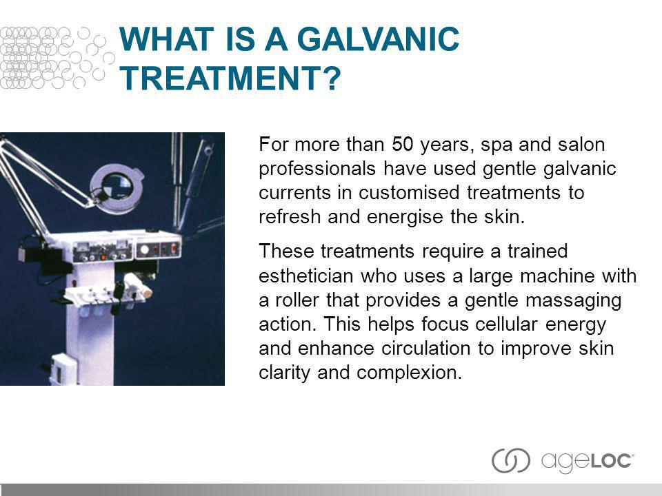 For more than 50 years, spa and salon professionals have used gentle galvanic currents in customised treatments to refresh and energise the skin. Thes