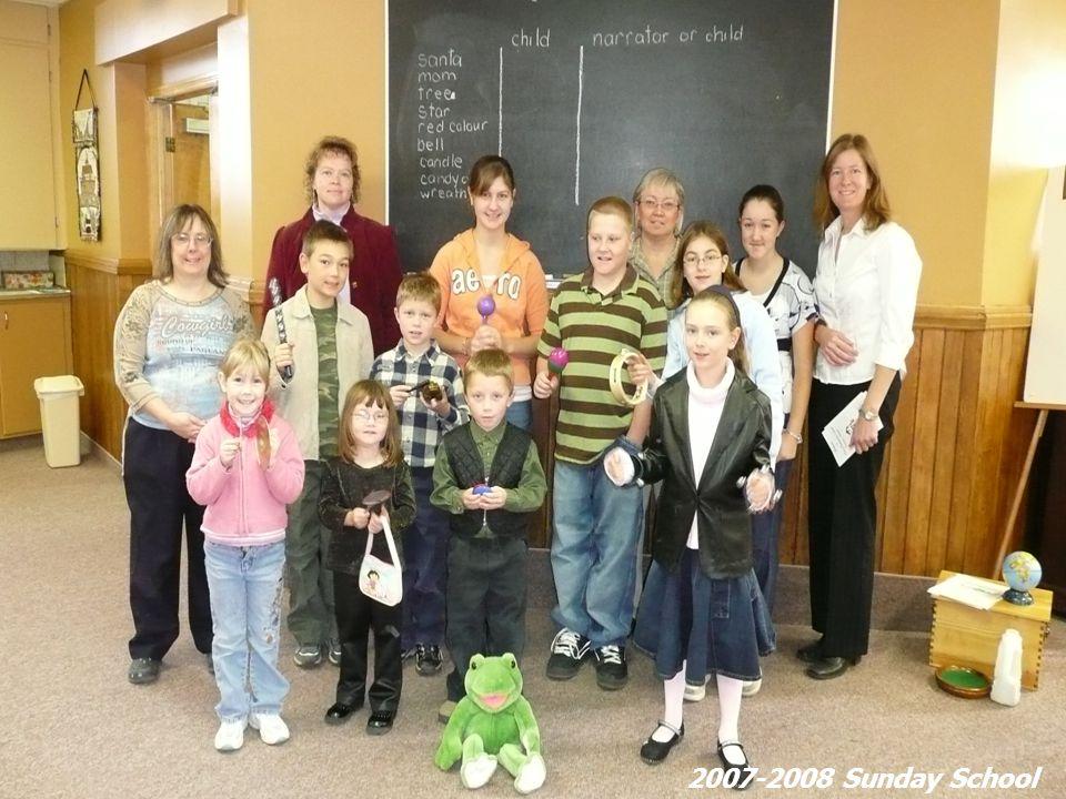 2007-2008 Sunday School