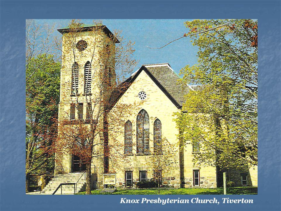 Knox Presbyterian Church, Tiverton