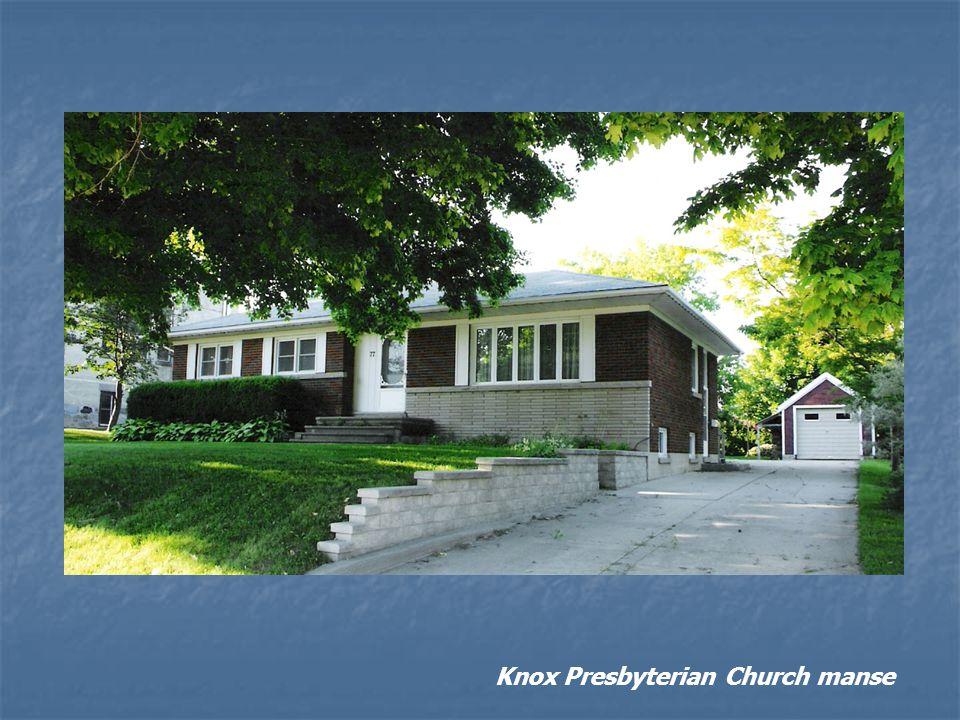 Knox Presbyterian Church manse