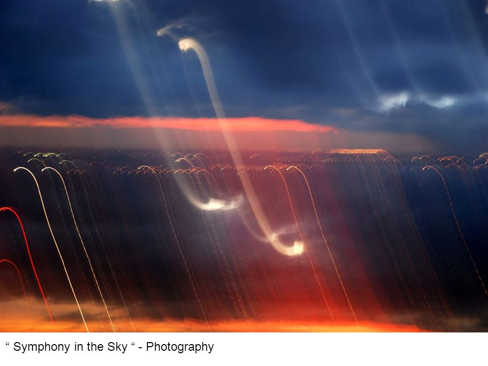 Symphony in the Sky - Photography
