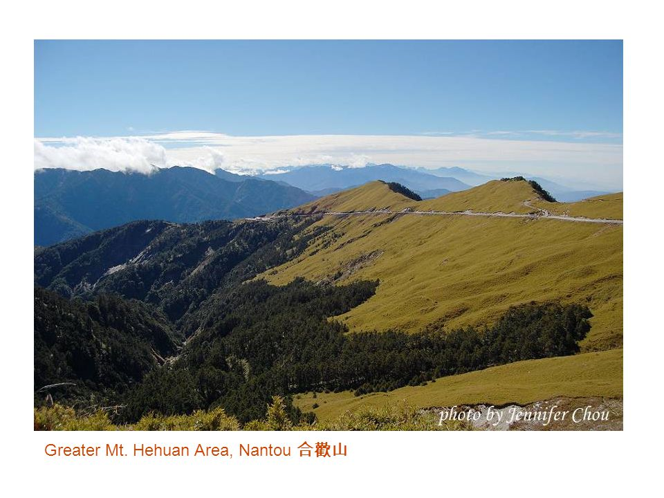Greater Mt. Hehuan Area, Nantou