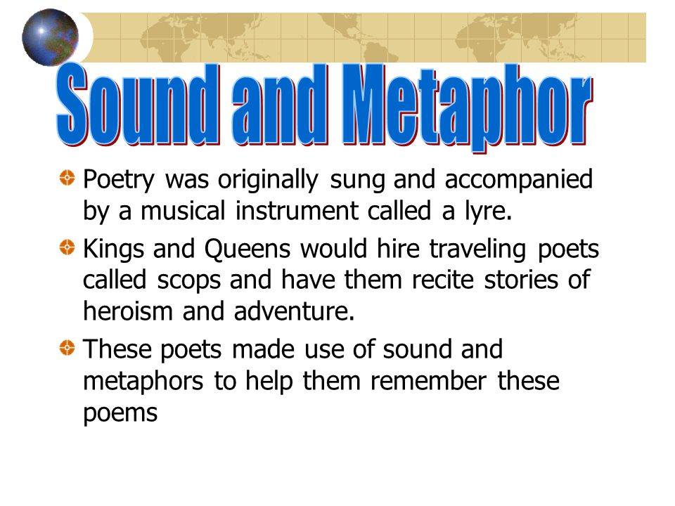 Sonnets (little songs) are types of lyric poems All sonnets consist of 14 lines All sonnets are written primarily in iambic pentameter There are two t
