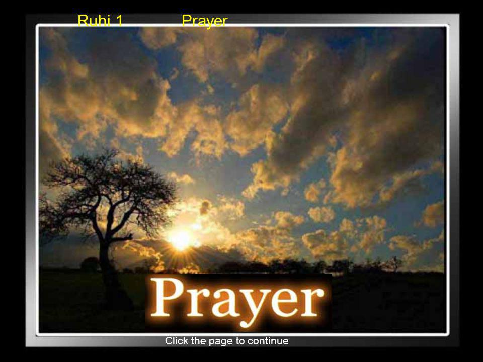 Click the page to continue Ruhi 1 Prayer