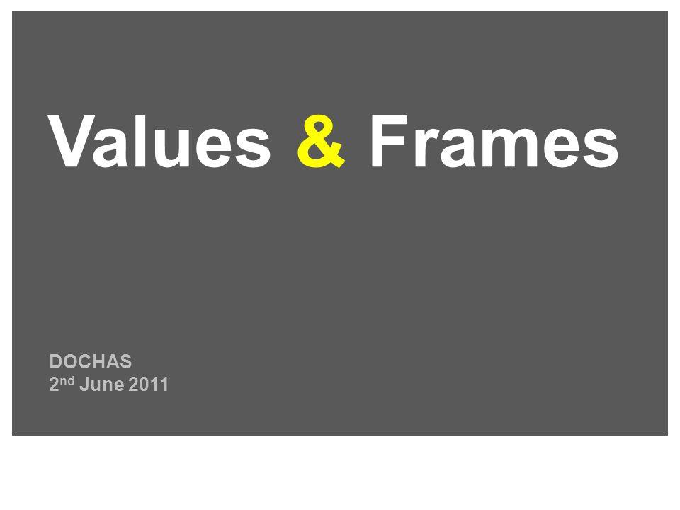 DOCHAS 2 nd June 2011 Values & Frames