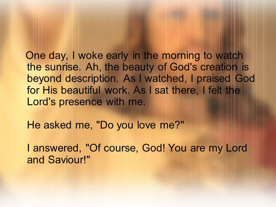 God s Love Story