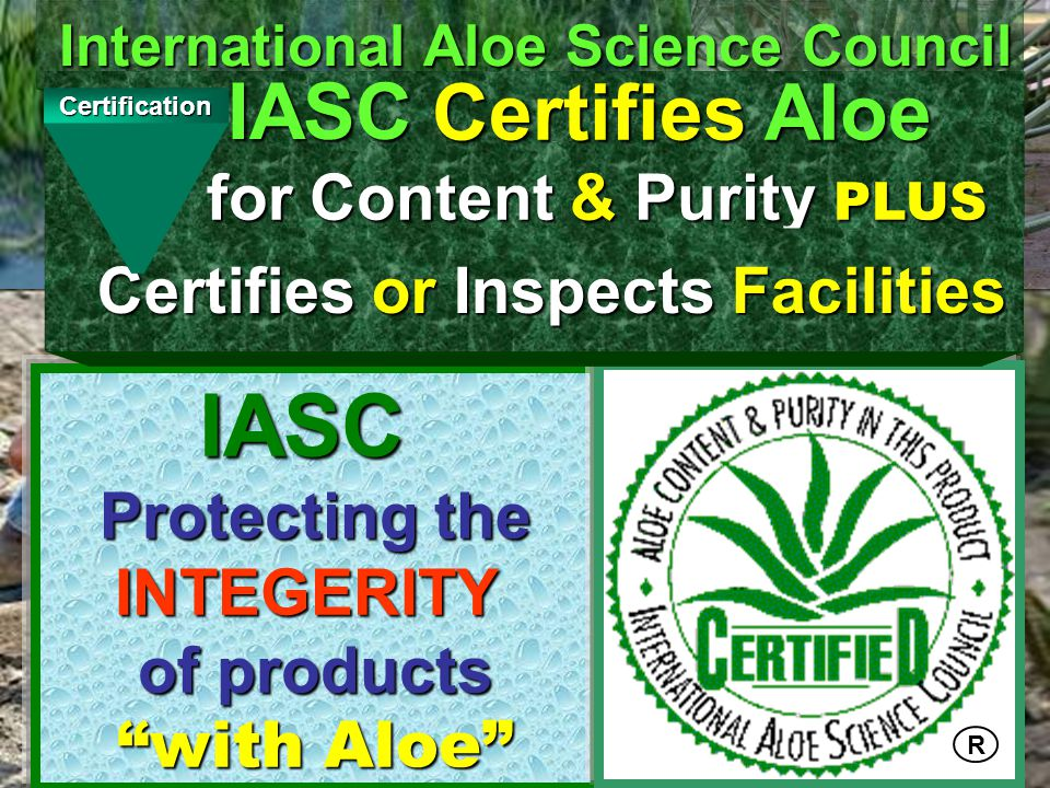 Certification12 IASC Product Certification Disapproves the product for IASC Certification and provides specific reasons for the disapproval and the corrections necessary to obtain to obtain IASC Certification.
