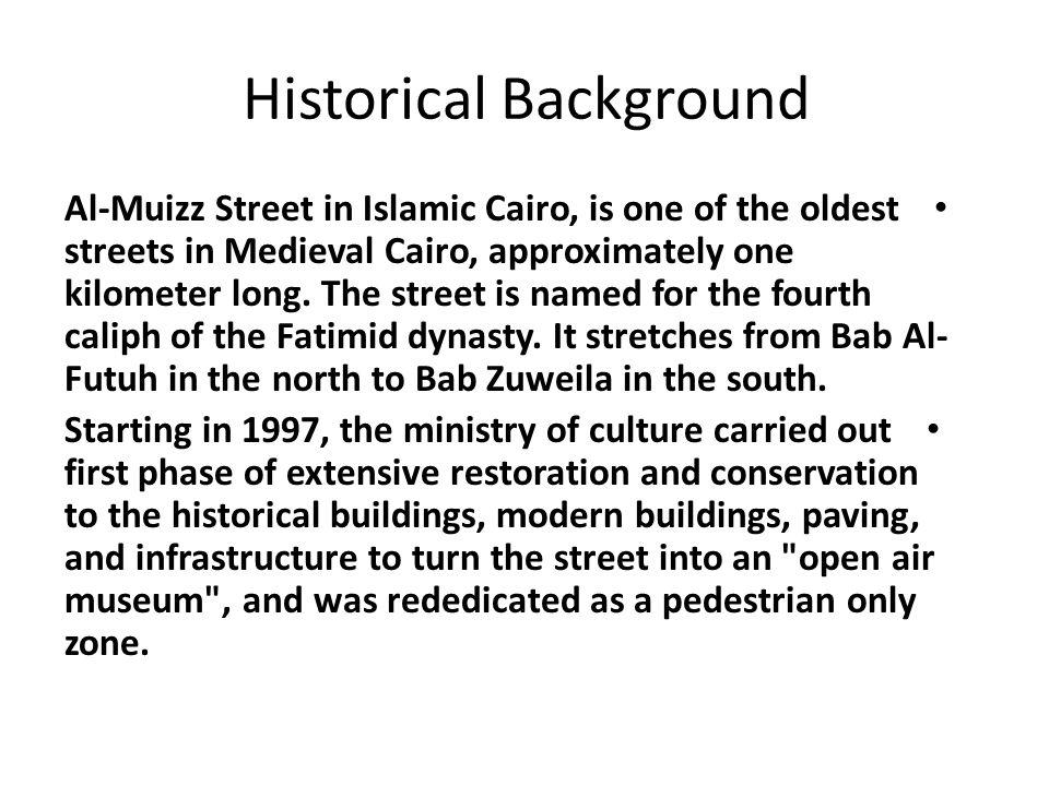 restoration Darb el Asfar Area