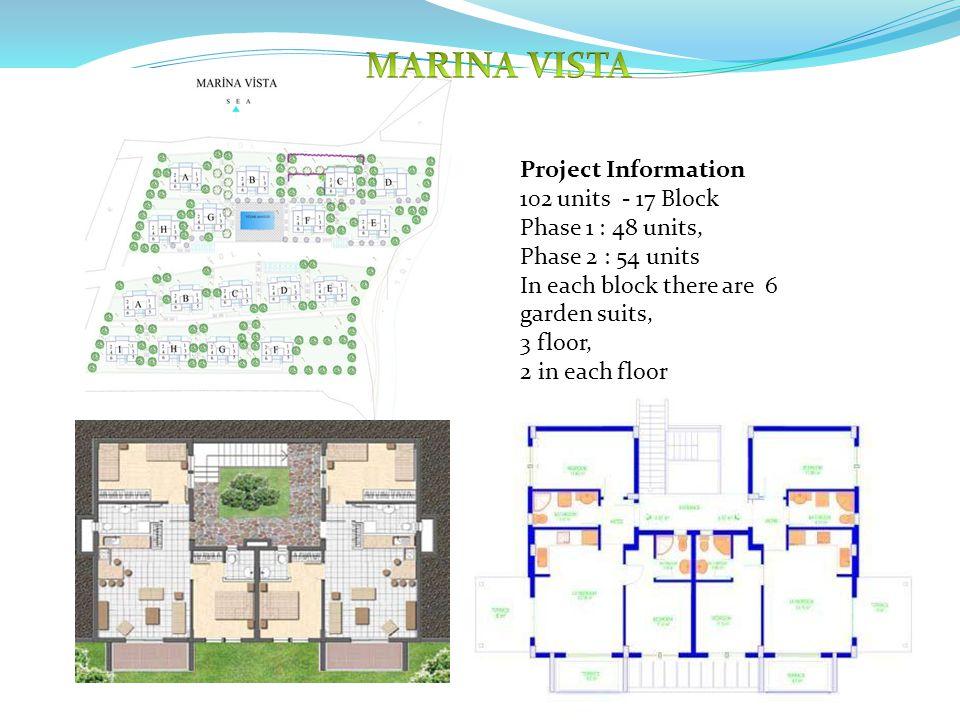 2 Bedroom – 2 Bathroom 63.79 sqm living area + 12.5 sqm terrace Top floors have 52.5 sqm extra.