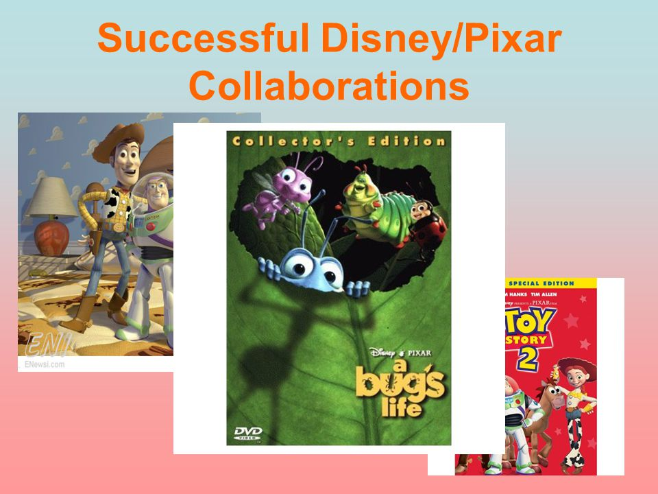 Successful Disney/Pixar Collaborations