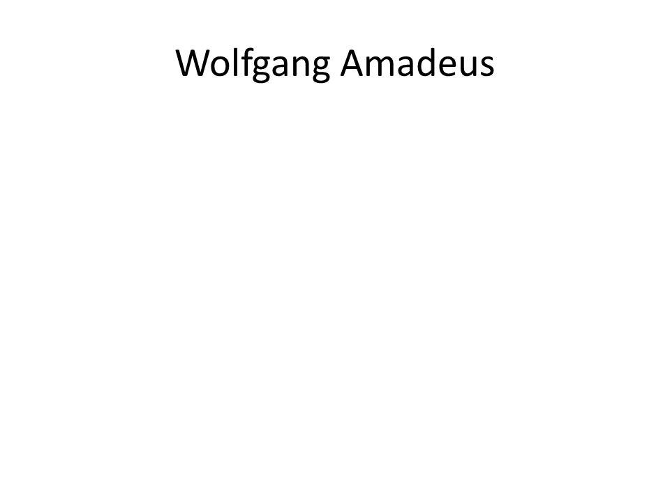 Wolfgang Amadeus