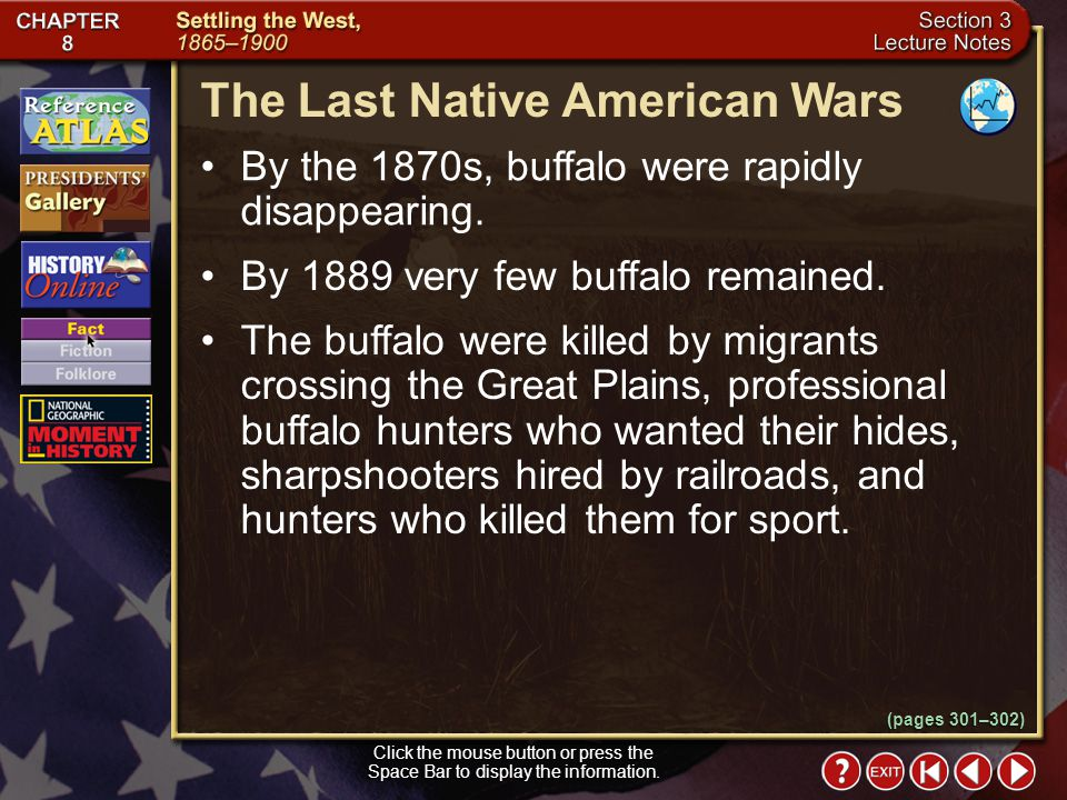 Section 3-14 What events led to the formation of the Indian Peace Commission? Fettermans Massacre, the Sand Creek Massacre, and several other conflict