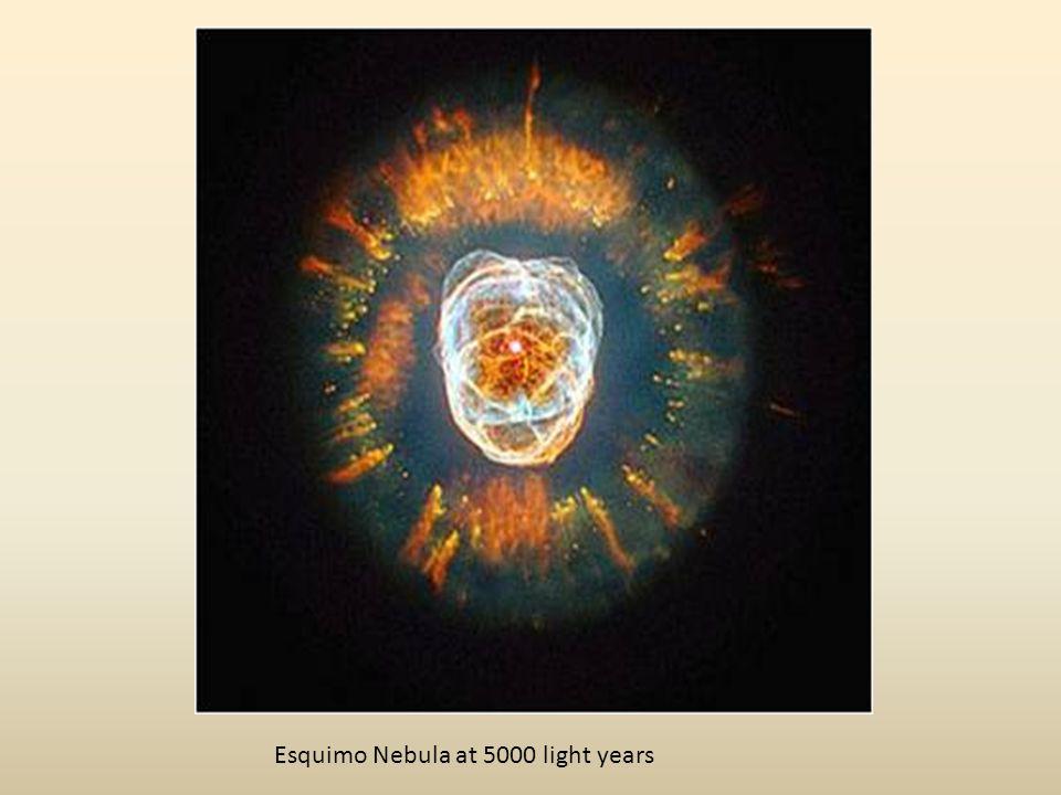 Esquimo Nebula at 5000 light years