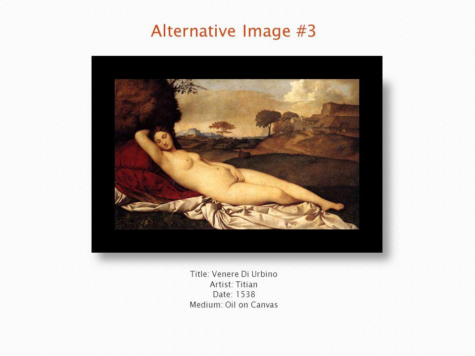 Title: Venere Di Urbino Artist: Titian Date: 1538 Medium: Oil on Canvas