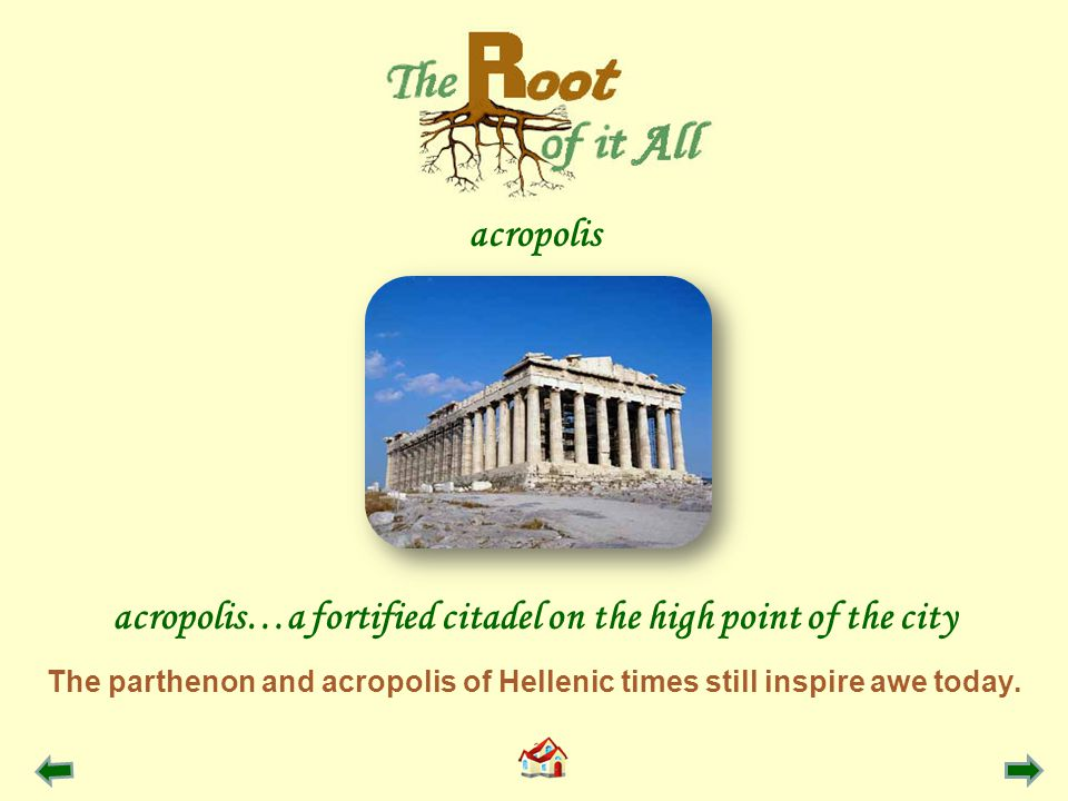 The parthenon and acropolis of Hellenic times still inspire awe today.