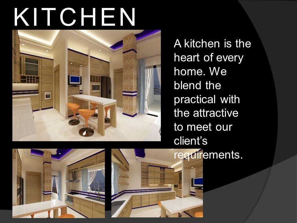 A kitchen is the heart of every home.