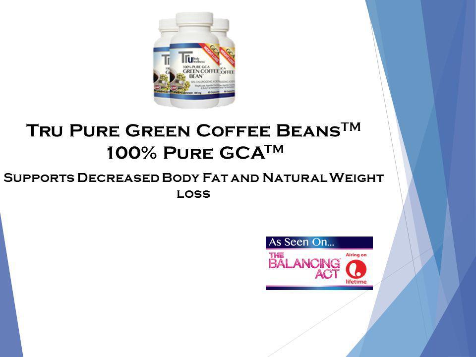 Tru Body Wellness Appetite Control TRU PURE GREEN COFFEE BEAN WITH GCA TM
