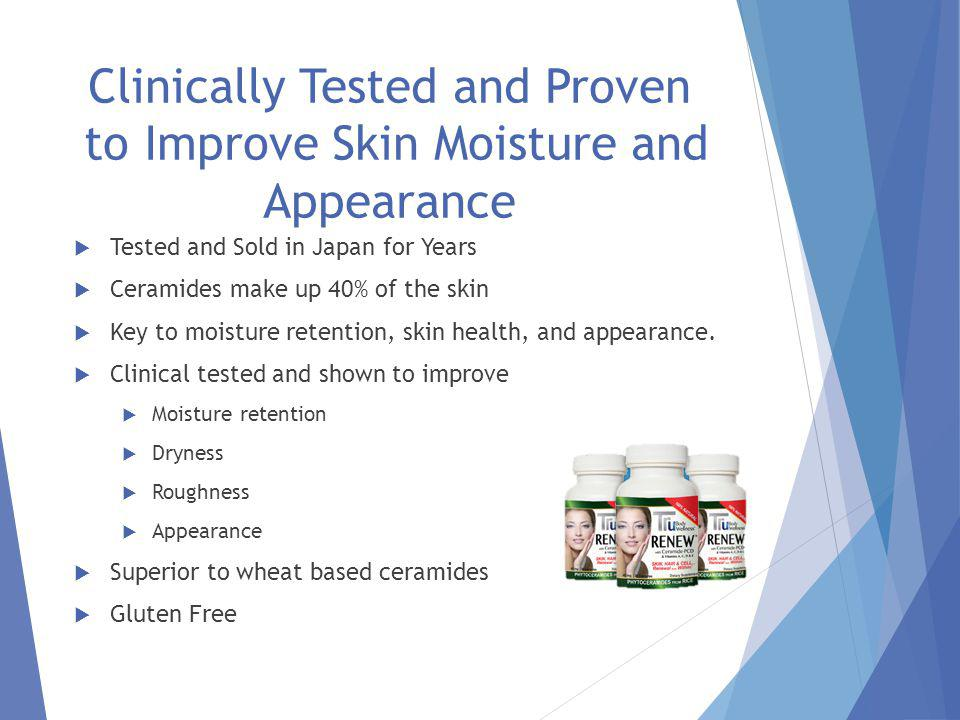 Tru Renew TM with Ceramide TM -PCD From Oryza Ceramide from Rice for Smoother, Healthier and Younger Skin