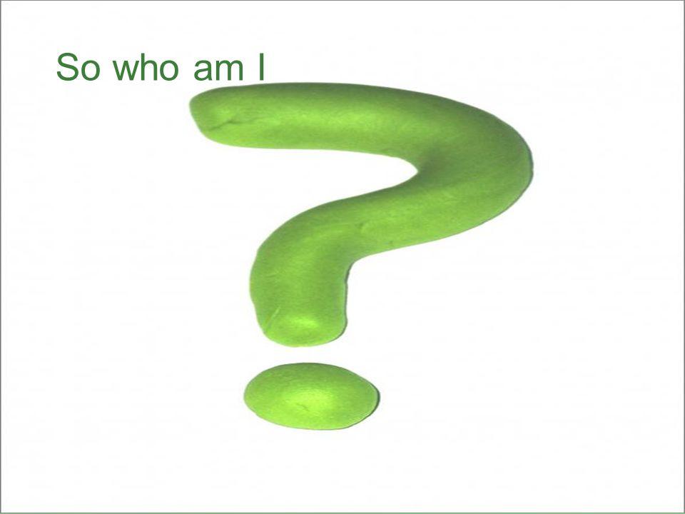 So who am I