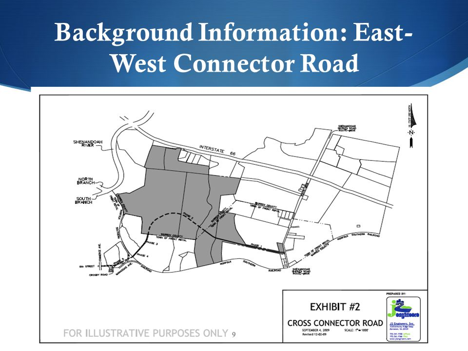 Background Information: East- West Connector Road 9