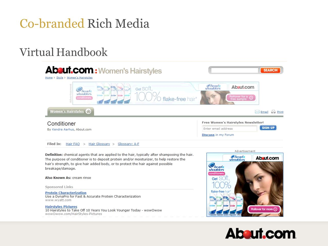 Co-branded Rich Media Virtual Handbook