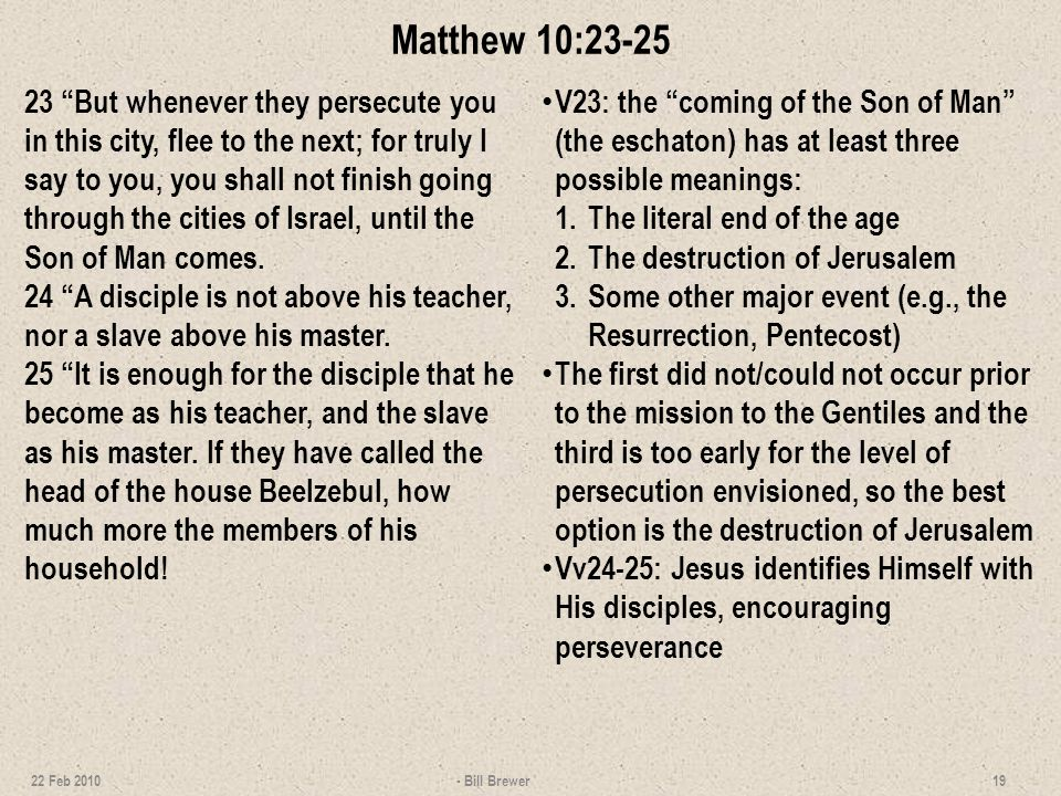 Matthew 10:26-27 26 Therefore do not fear them, for there is nothing covered that will not be revealed, and hidden that will not be known.