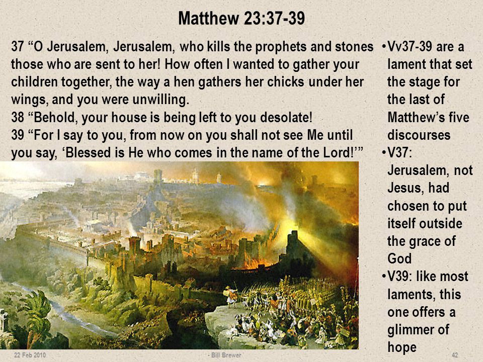 Lesson 7 Wrap Up 1.List the points Jesus covered in the Limited Commission.