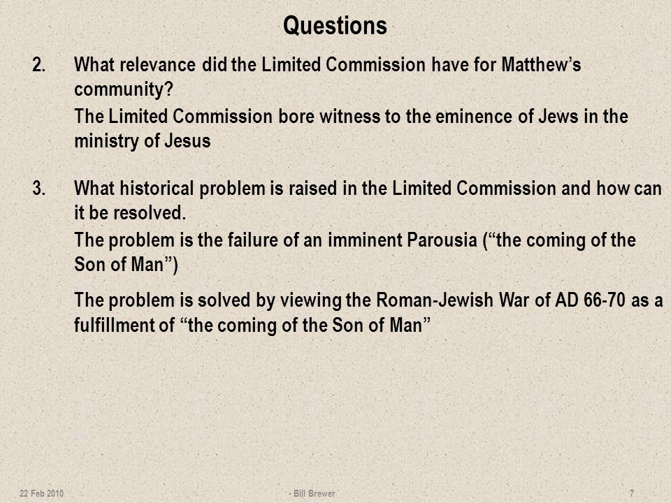 Questions 4.Identify the seven woes on the Pharisees.