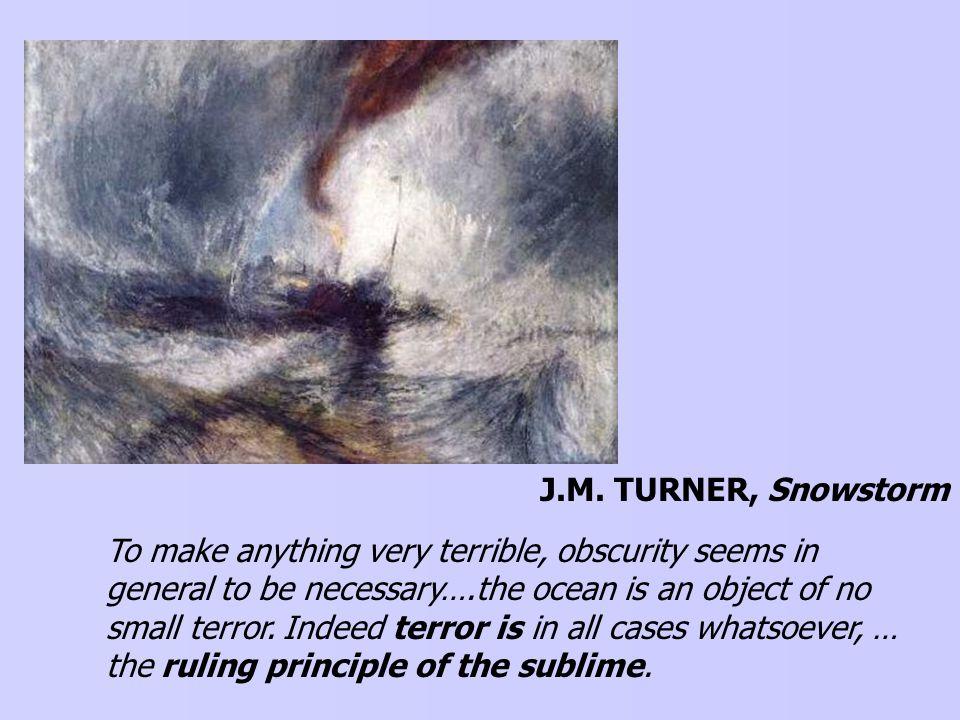 J.M. TURNER The Shipwreck, 1805