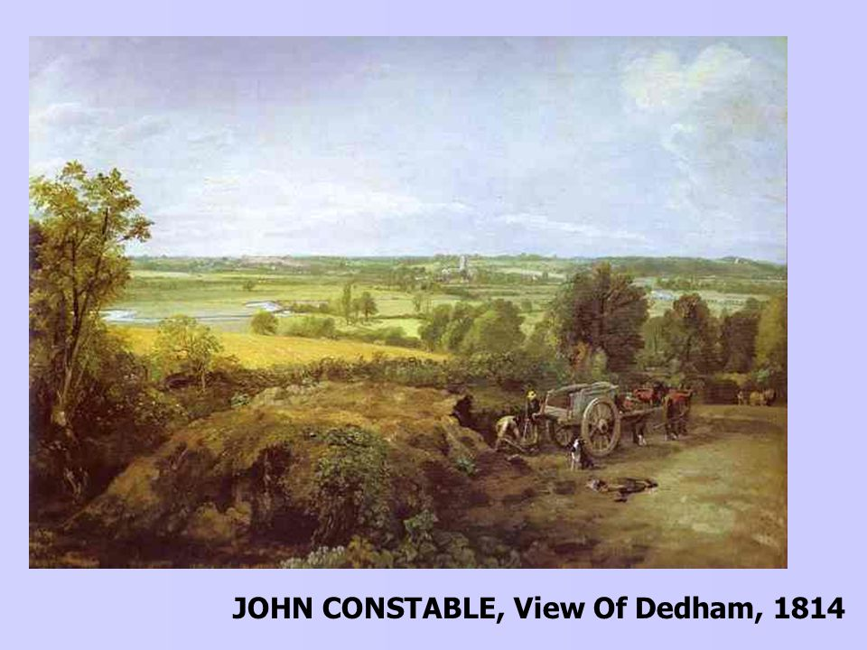 JOHN CONSTABLE, View Of Dedham, 1814