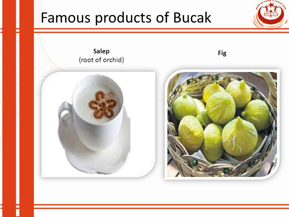 Famous products of Bucak Salep (root of orchid) Fig