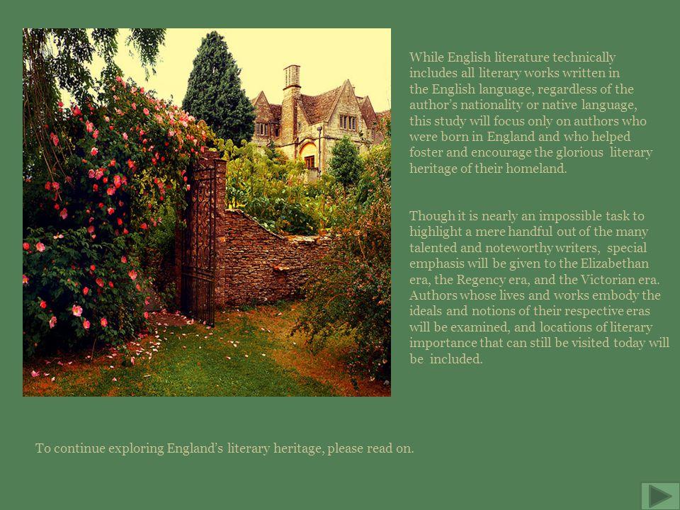 Main Menu William Shakespeare Jane Austen The Brontës Geoffrey Chaucer Site Map Resources Quit