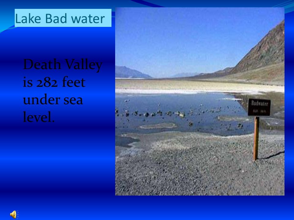 Size of Park Death Valley is 5,262 square miles