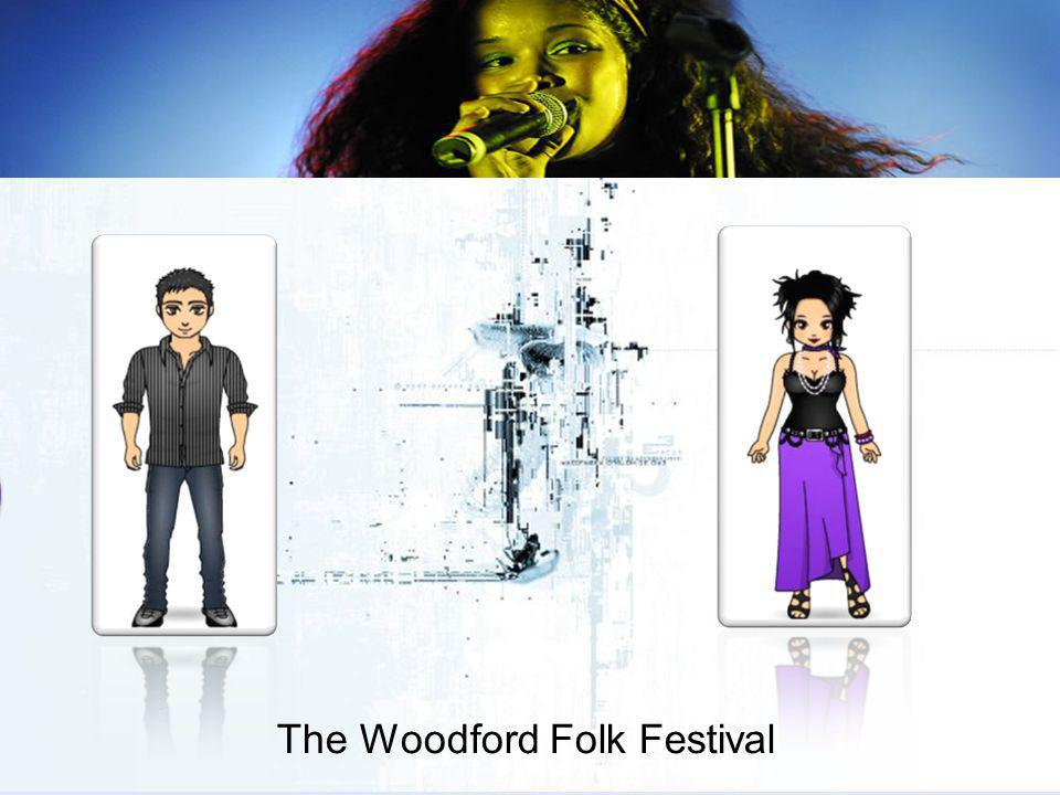 The Woodford Folk Festival Could you tell me a little bit about your target market?