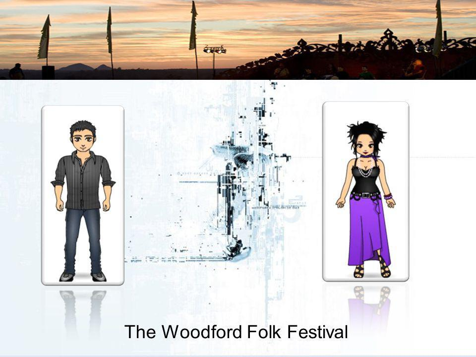 The Woodford Folk Festival However, we also have a strong commitment to servicing existing audiences and conforming to the charter of the Queensland F