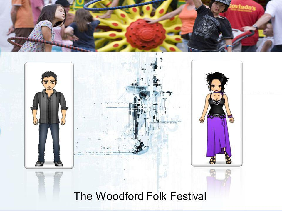 The Woodford Folk Festival Yes. The town has coped extremely well with such an influx of visitors and the majority are very supportive.