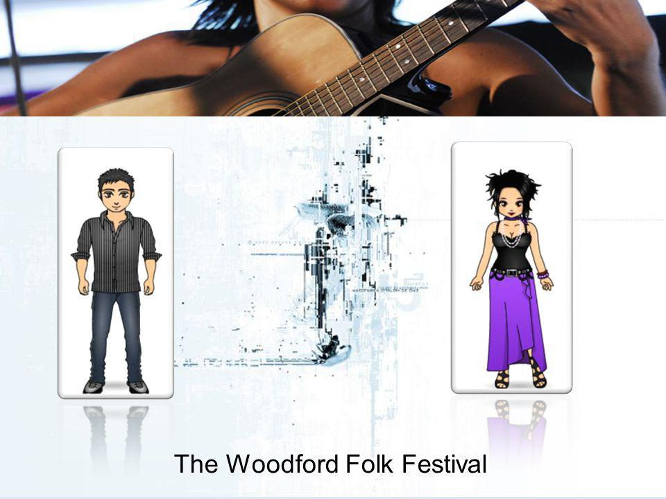 The Woodford Folk Festival Yes, the WFF are very conscious of these issues and endeavour to adjust wherever possible to stay ahead of the game.