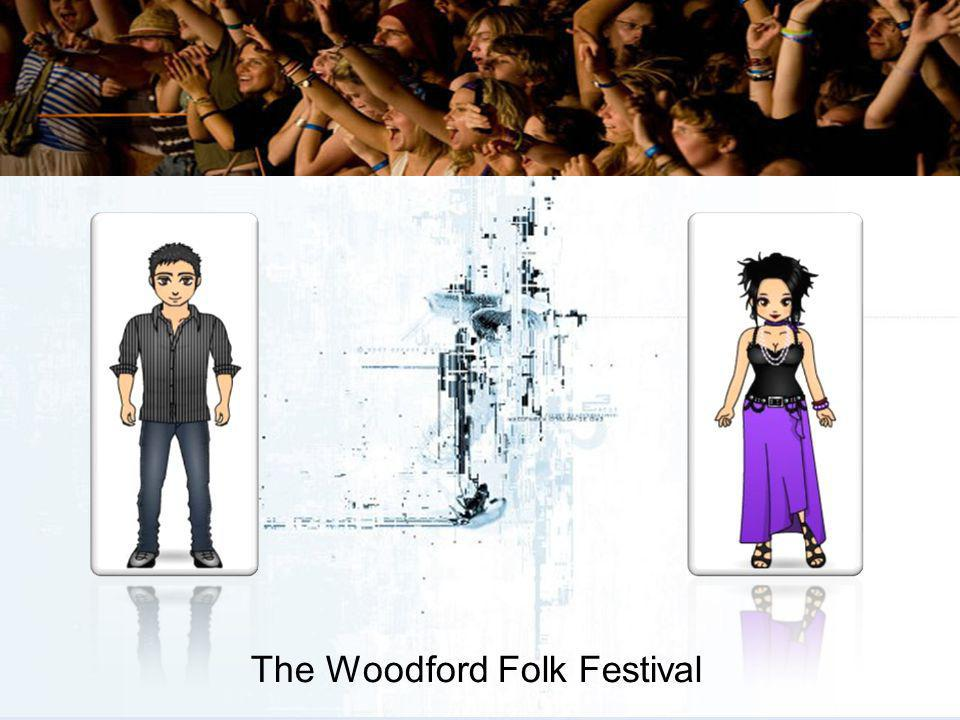 Interview with Chloe Goodyear Chloe Goodyear is a Programme Manager for Woodford Folk Festival (WFF) She works full-time with many others to construct the festival program.