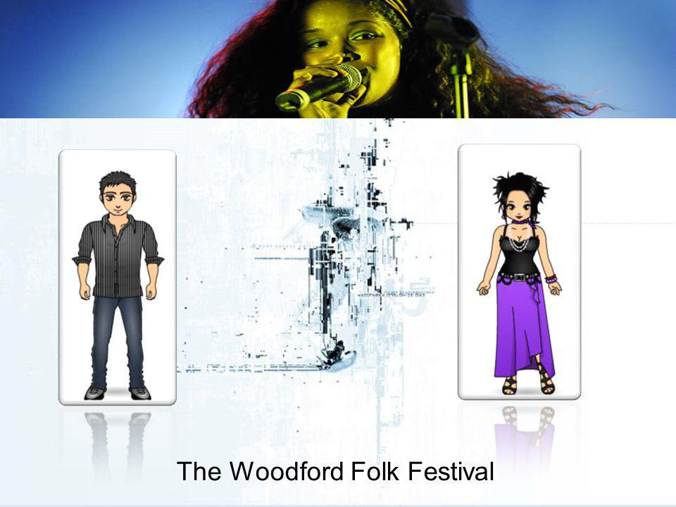 The Woodford Folk Festival A supply chain links all of the elements in creating the Woodford tourism, hospitality and event experience. Have there bee