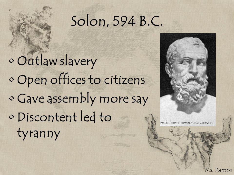 Solon, 594 B.C.