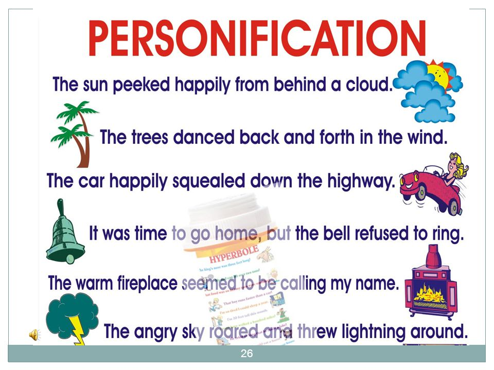 What is Personification? Watch the Personification Movie for review: 25