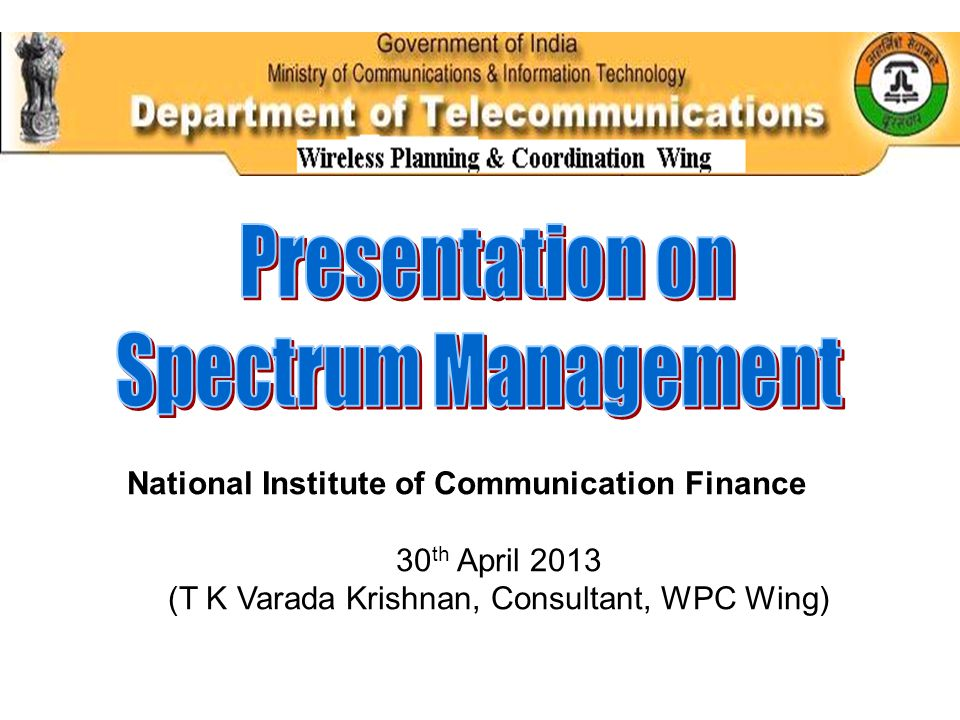 Spectrum Monitoring Spectrum monitoring and compliance involves the monitoring of the use of the radio spectrum and the implementation of measures to control unauthorized use.