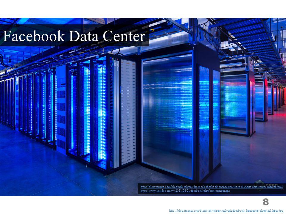8 http://blog.tmcnet.com/blog/rich-tehrani/facebook/facebook-opencomputeorg-disrupts-data-center-market.html http://www.inside.com.tw/2011/04/21/faceb